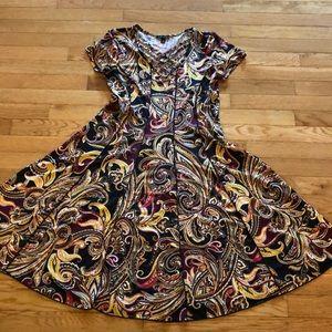 Gorgeous Sami & Jo Paisley Dress in EUC
